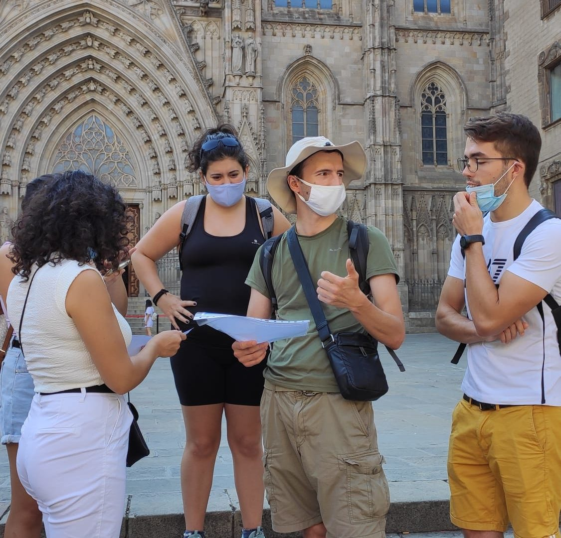 Treasure Hunt: Discovering Barcelona