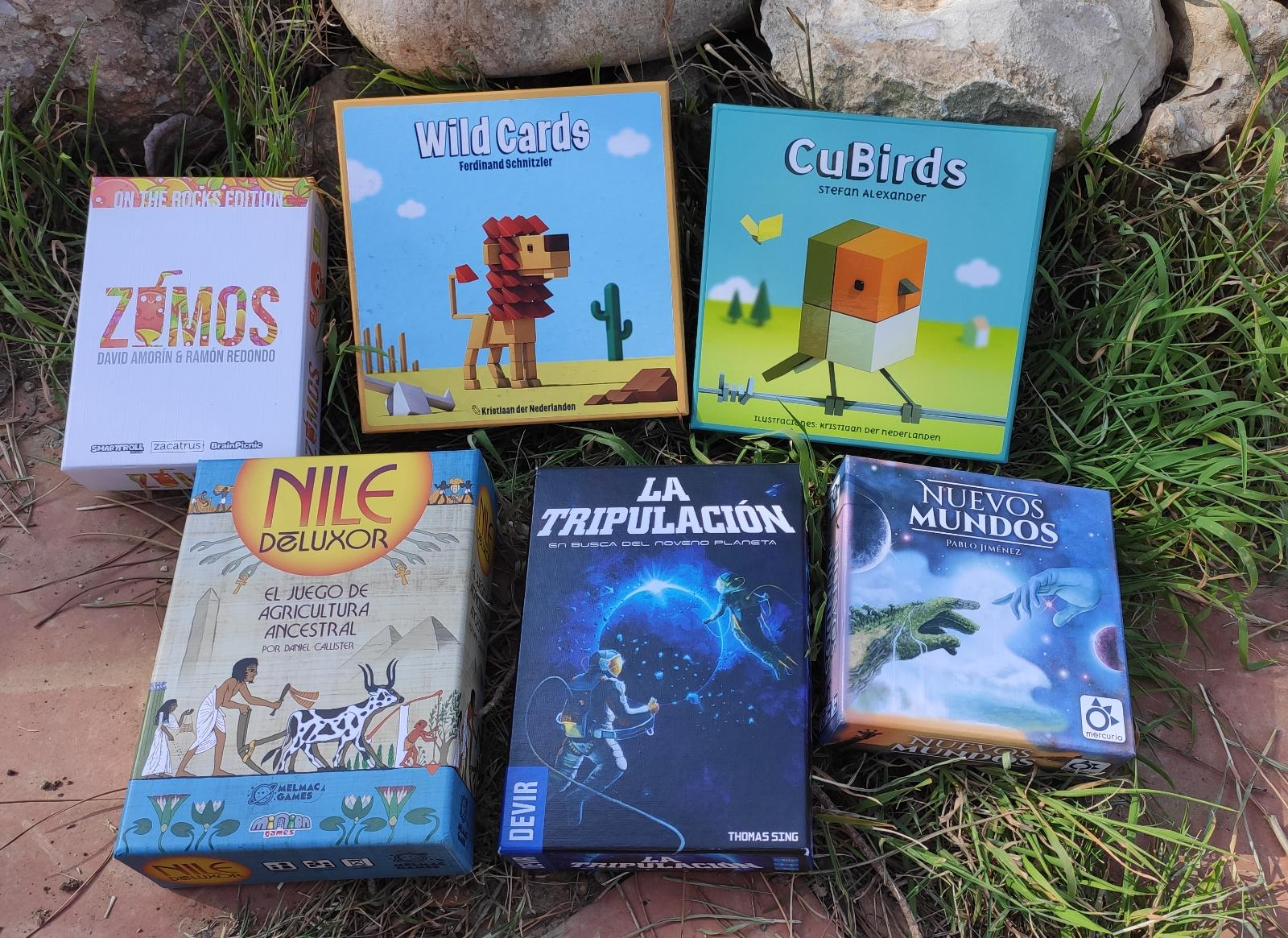 Holidays time? 6 board games your suitcase must have!