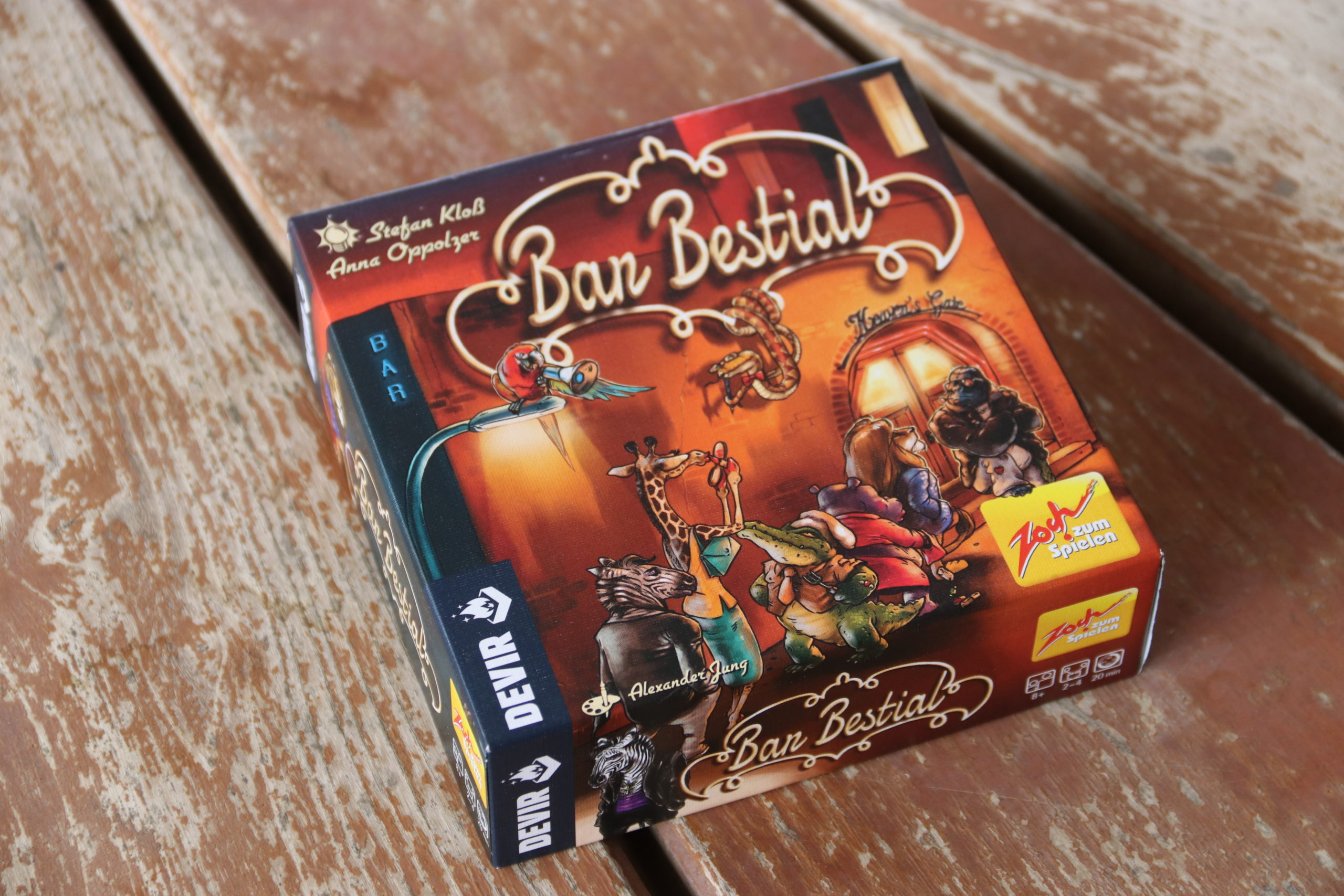 """You are currently viewing [REVIEW] """"Bar Bestial"""". Are you the coolest animal?"""
